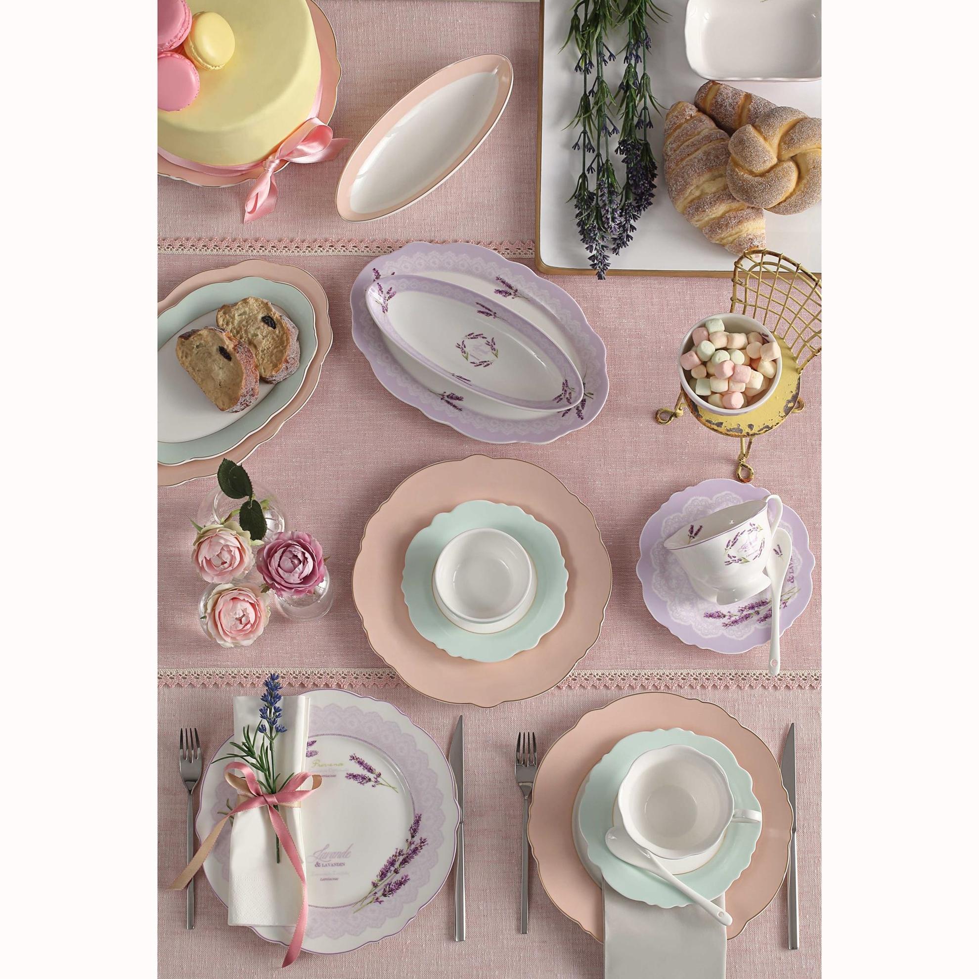 resm Bianca Luna Elegante 6 Kişilik 39 Parça Kahvaltı Takımı