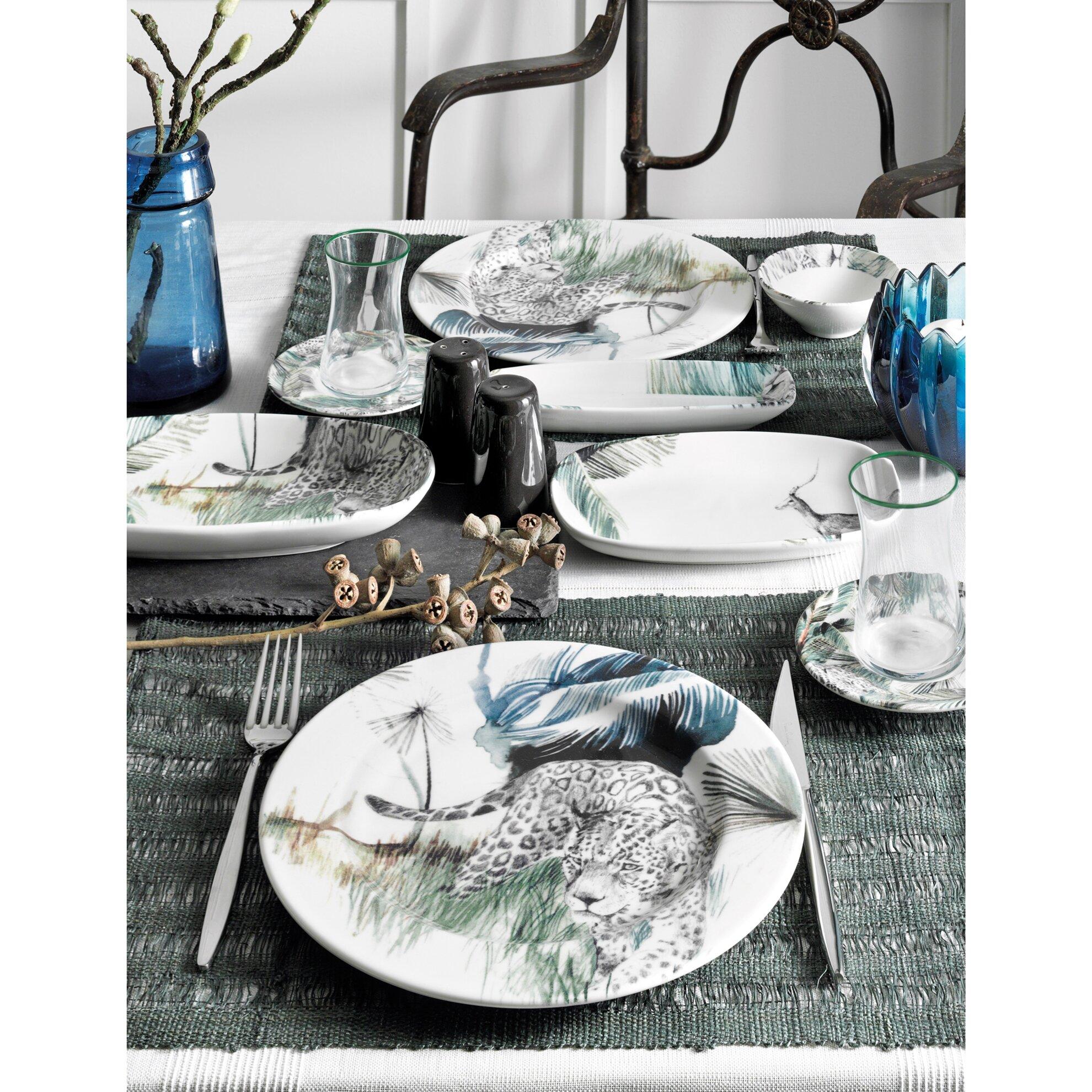 resm Pierre Cardin Naomi 31 Parça 6 Kişilik Kahvaltı Takımı