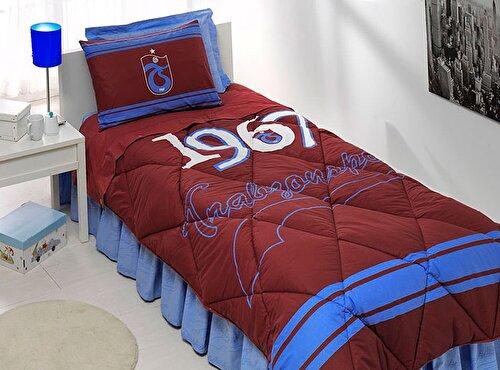 Resim Taç Trabzonspor Logo Tek Kişilik Uyku Seti
