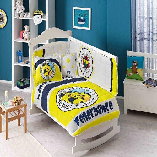Resim Taç Fenerbahçe Minik Kanarya Baby Uyku Seti