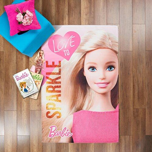 Resim Barbie Sparkle Halı