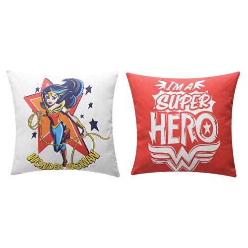 Resim SüperHero Girls Kırlent