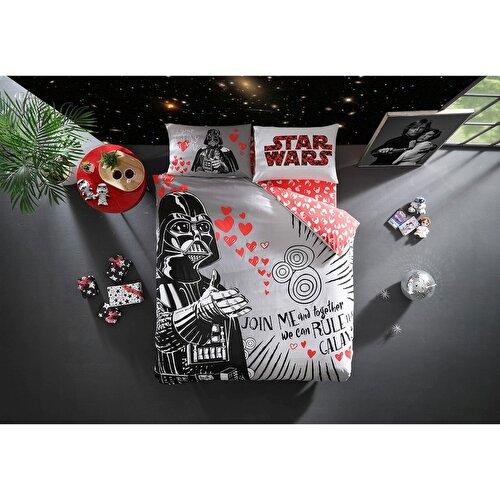 Resim Taç Star Wars Valentine'S Day Çift Kişilik Nevresim Takımı
