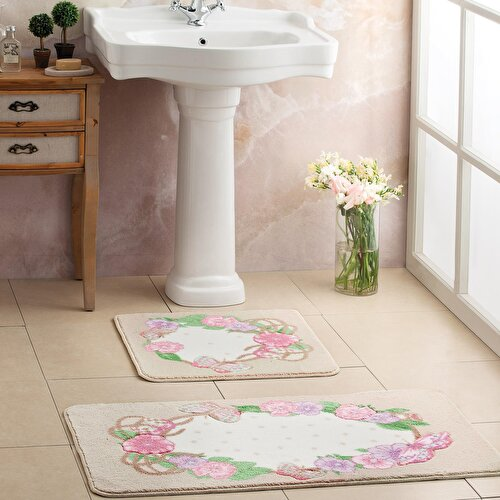Resim Taç Jalia Banyo Paspası Renkli