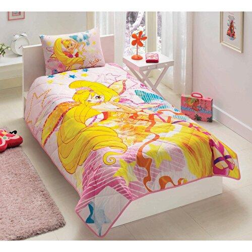 Resim Taç Winx Harmonix Yatak Örtüsü Seti