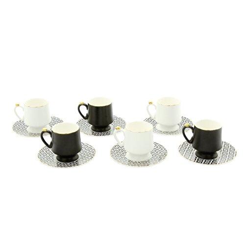 Resim Pierre Cardin Lenora 6'lı Kahve Fincanı