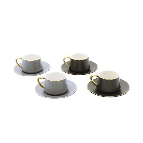 Resim Pierre Cardin Juno Dark 4'lü Kahve Fincanı