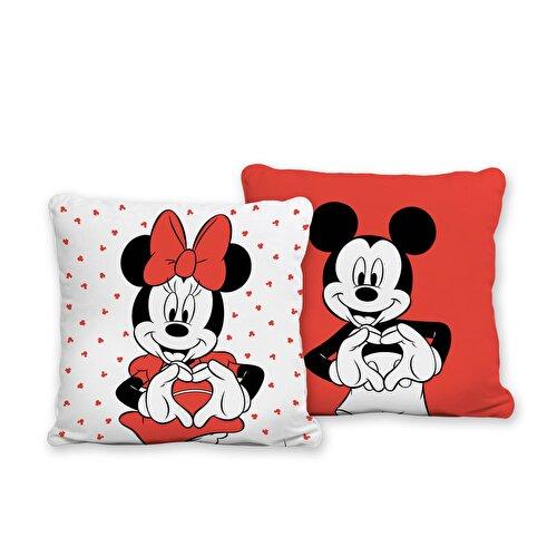Resim Disney Minnie&Mickey Lover Kırlent
