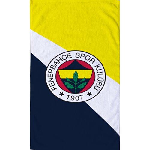 Resim Fenerbahçe 1907 Logo Plaj Havlusu