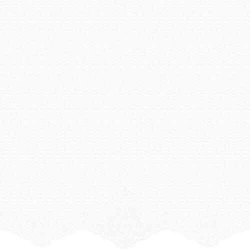 Resim Capro Tül Perde Beyaz