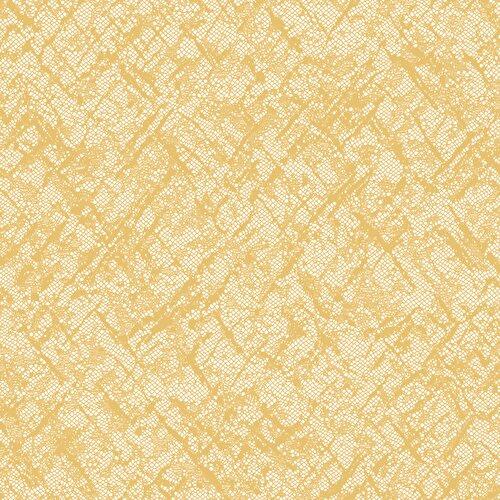 Resim Apron Tül Perde Sarı